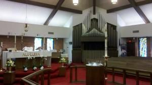 Trinity Lutheran sanctuary