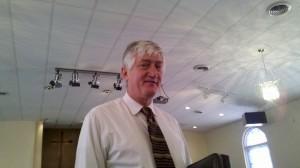 Mark Davis, Interim Pastor at Scott Memorial COG