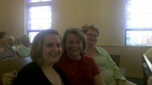 Laura, Jean, and Rhonda