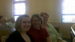 Laura, Jean, and Rhonda