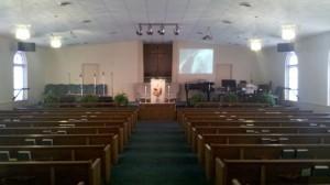 Scott Memorial COG sanctuary