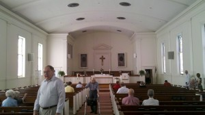 White Oak UMC sanctuary