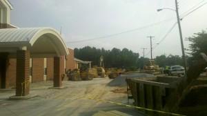 Silverdale Baptist construction