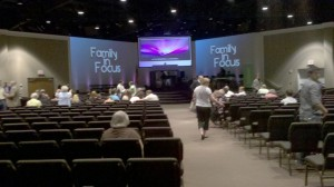 Redemption Point Church sanctuary