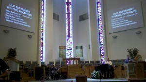 Burks United Methodist sanctuary