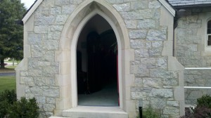 Chattanooga Church sanctuary entrance