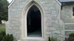 Chattanooga Church sanctuary entrance
