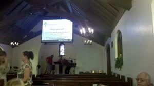 Chattanooga Church medieval sanctuary