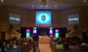 The Well - sanctuary at Hixson First Baptist