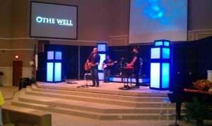 praise band at The Well - Hixson First Baptist