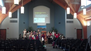 Signal Mountain Bible Church sanctuary