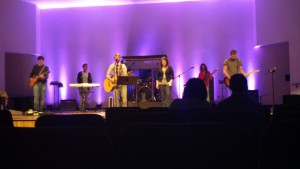 Christ United Methodist contemporary worship band