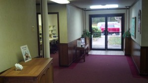 Calvary Church of the Nazarene - empty lobby