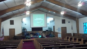 Calvary Church of the Nazarene - sanctuary