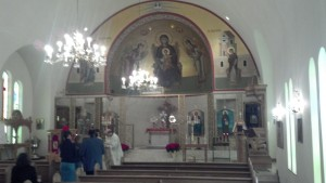 Annunciation Greek Orthodox Church sanctuary