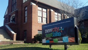 New City Fellowship East Lake sign