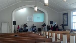 New City Fellowship East Lake sanctuary