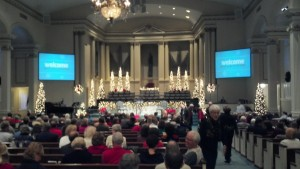 Brainerd Baptist Church sanctuary
